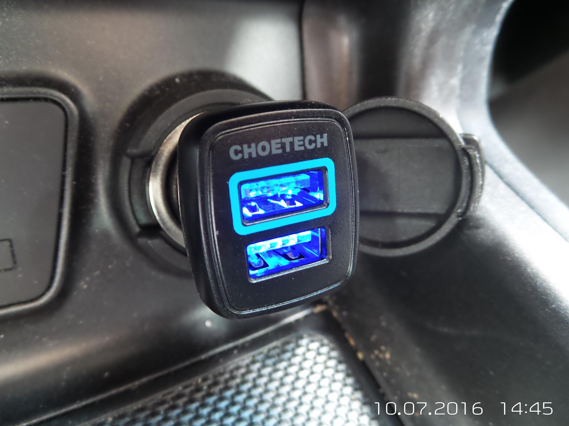 Choetech 30W Quick Charge 3.0 USB Car Charger Review