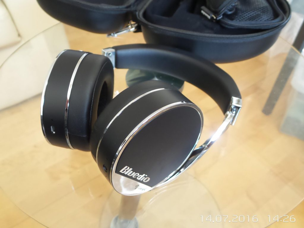 Bluedio Vinyl Plus Bluetooth Headphone Quick Review by mark2410