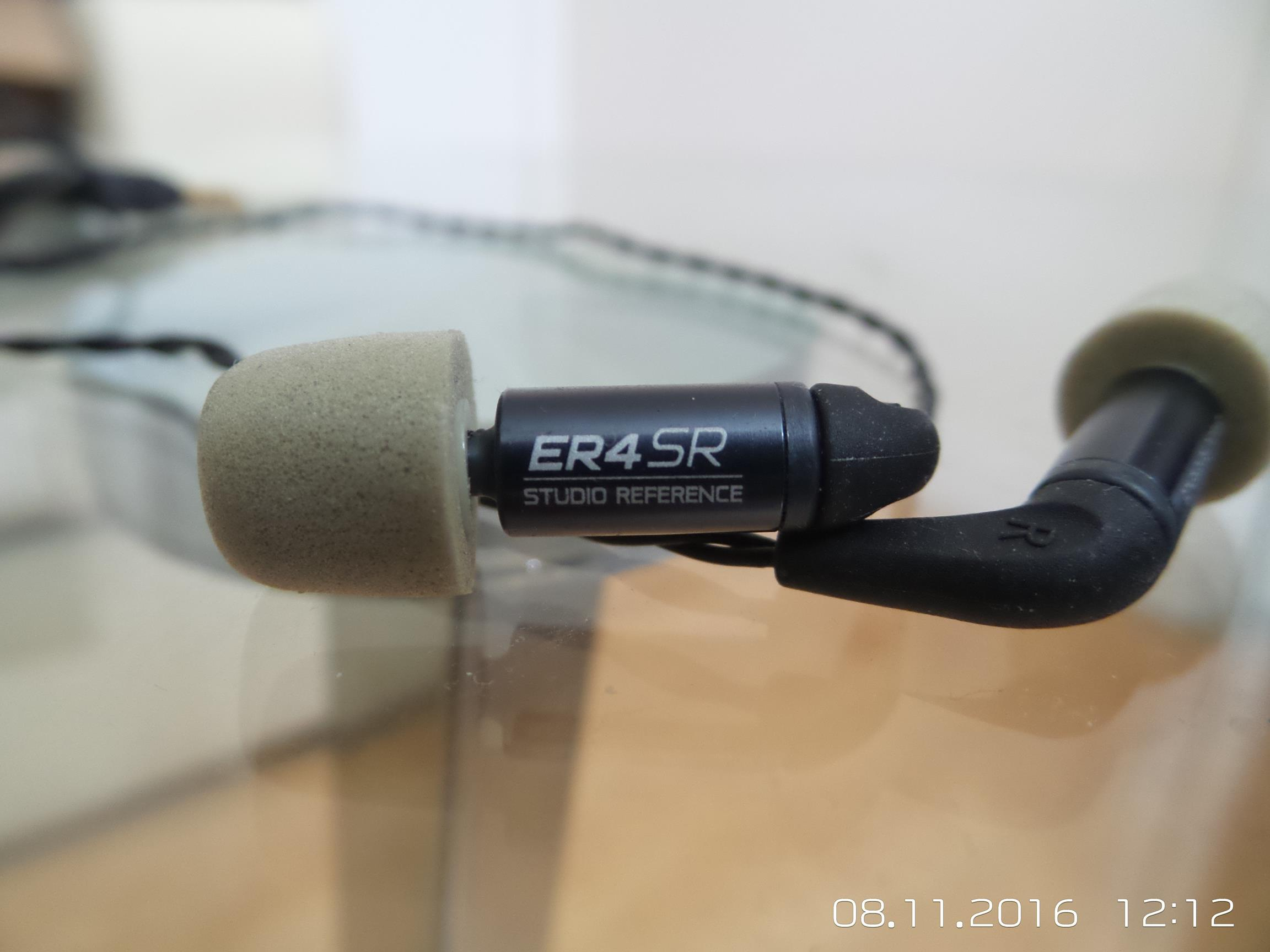 Etymotic ER-4SR Studio Reference Earphone Review
